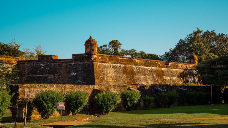 This,Is,The,Amazing,Saint,Fernando,Fortress,Located,In,Omoa,